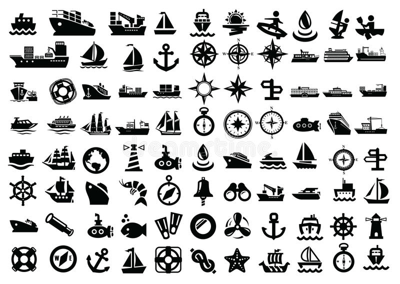 Download Boat and ship stock vector. Image of luxury, shipping - 30504781
