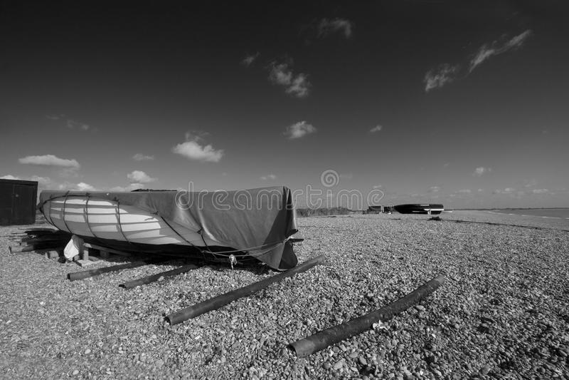 Download Boat on shore stock image. Image of twilight, british - 10723589