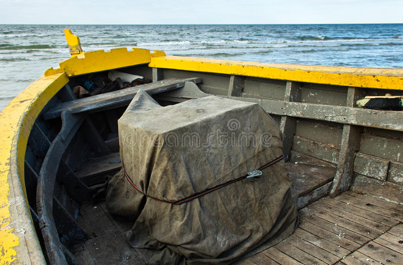 Boat On The Shore. Stock Photos