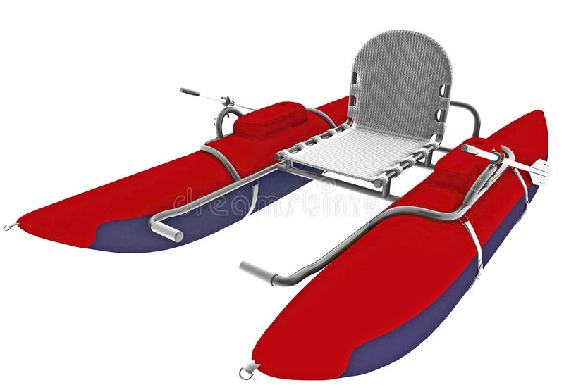Download Boat with single seat stock illustration. Illustration of paddle - 21930078