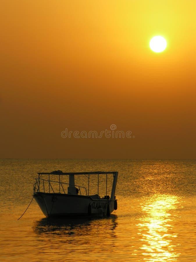 Download Boat. sunrise stock image. Image of evening, navigation - 456969