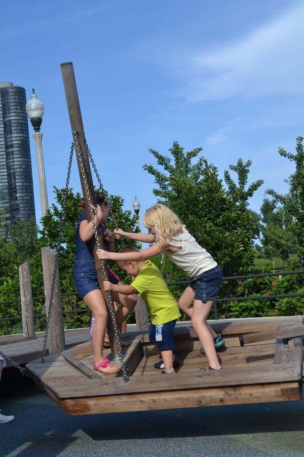 Boat swing stock photos