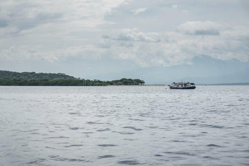 Boat to Menjangan Island. This photo taken on the boat enroute to Menjangan Island Bali, Indonesia royalty free stock photos
