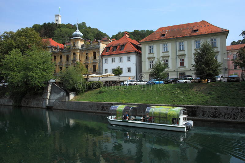 Download Boat Tour On Ljubljanica Editorial Photo - Image: 39374401