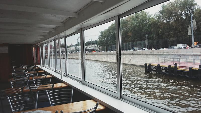 Boat trip stock photography