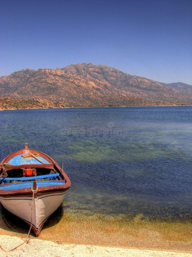 Boat in Turkey royalty free stock photos