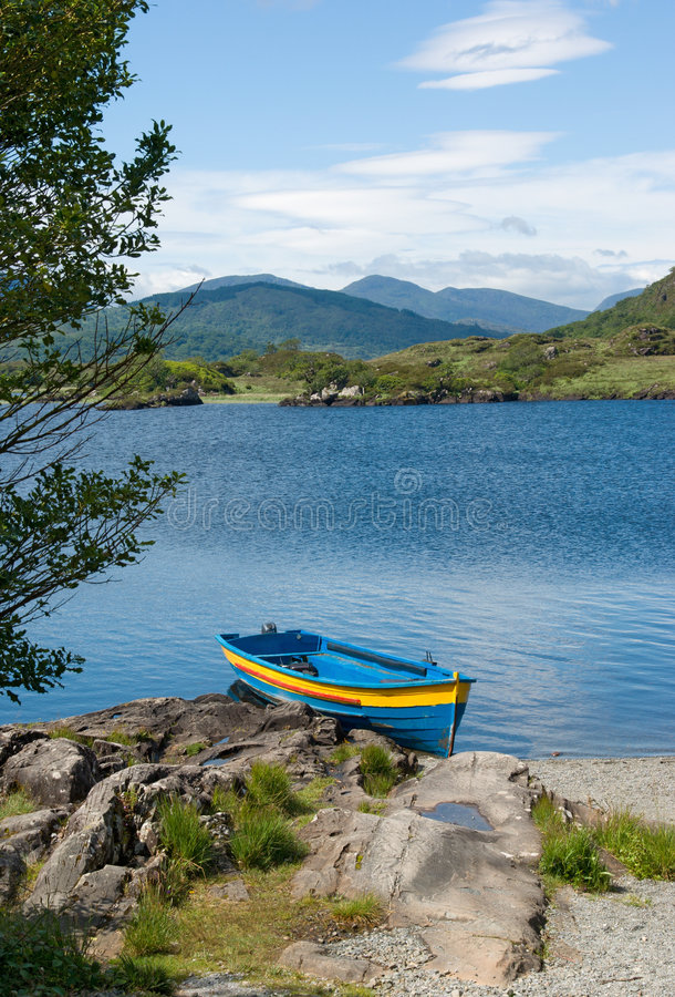 Download Boat On Upper Lake, Killarney Stock Photo - Image: 4688548