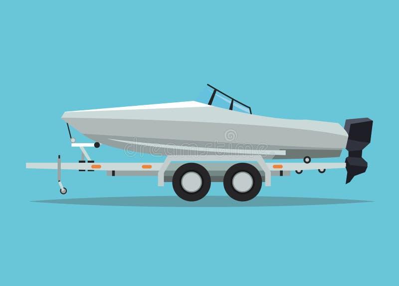 Boat vehicle and transportation design. Boat icon. Vehicle transportation travel and trip theme. Colorful design. Vector illustration vector illustration