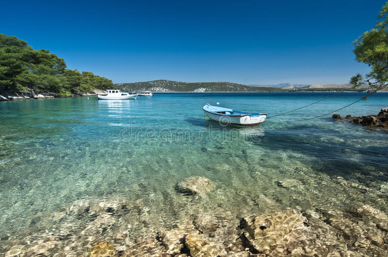 Download Boat On The Water Stock Photo - Image: 26610110