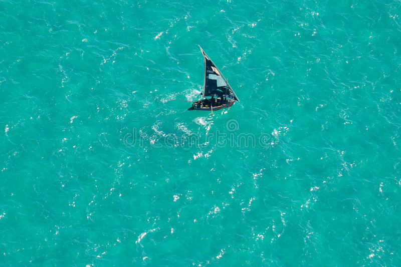 Download Boat On Water, Mozambique, Southern Africa Royalty Free Stock Image - Image: 1417236