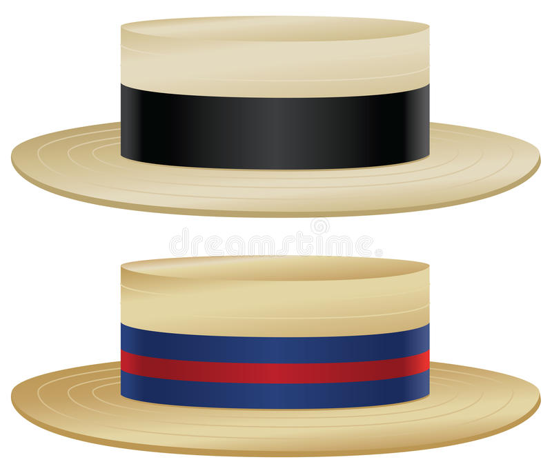 Download Boater Hat Stock Vector - Image: 40656446
