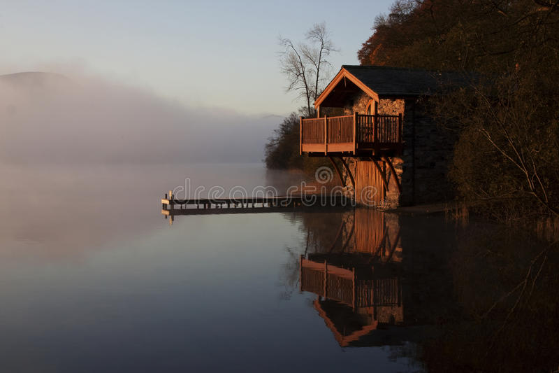 boathouse δούκας Πόρτλαντ στοκ εικόνα