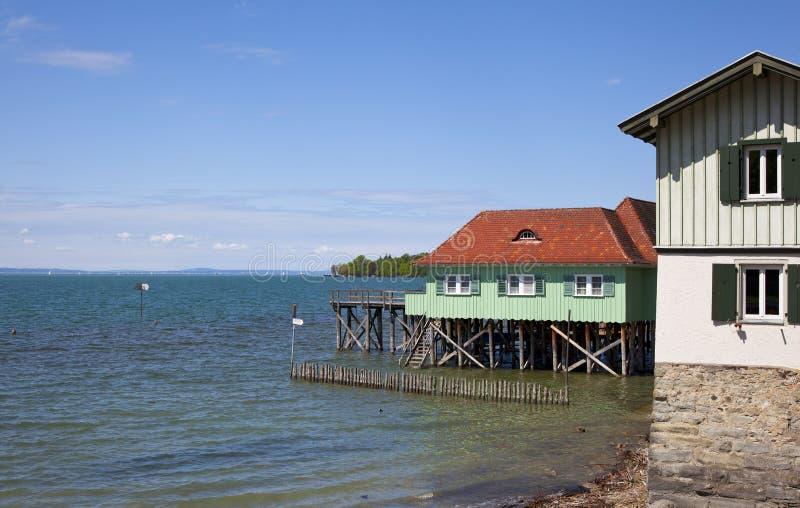 boathouse fotografia stock
