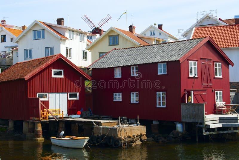 Boathouse stock photography