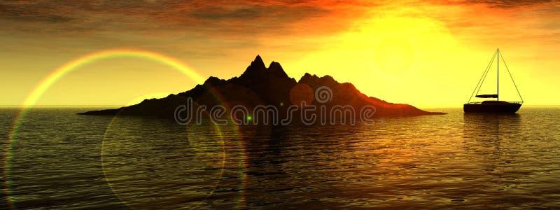 Download Boating 41 stock illustration. Image of illuminated, reflect - 628857