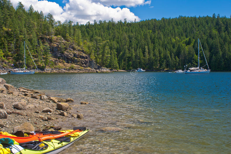 Download Boating, desolation sound stock photo. Image of outdoor - 20862590