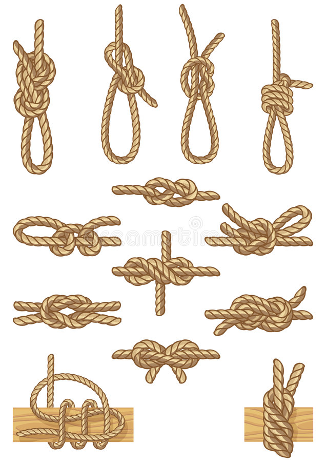 Download Boating knots stock vector. Illustration of equipment - 8799749