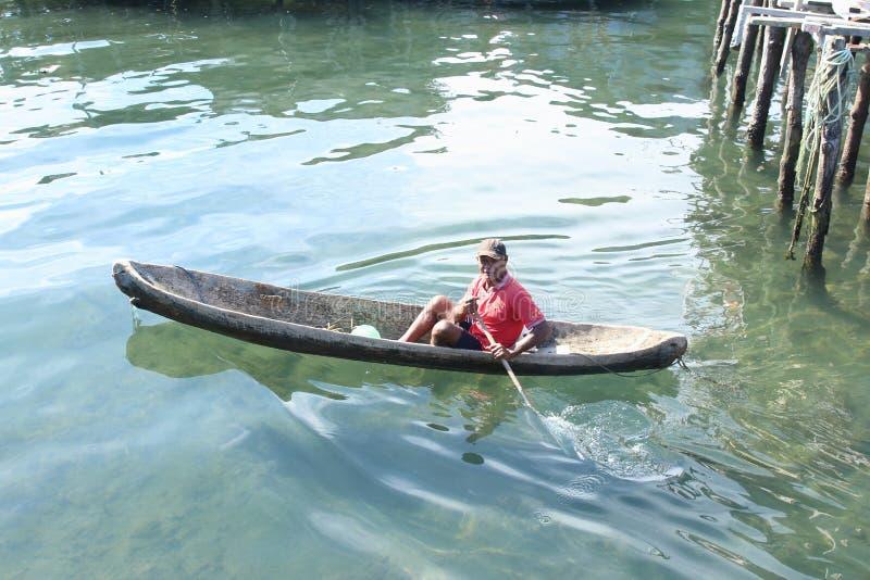 boatman royalty-vrije stock afbeeldingen