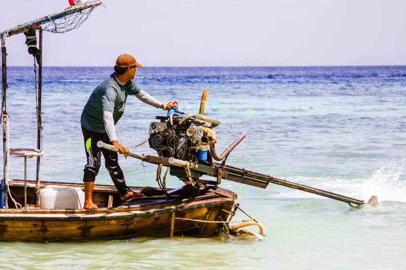 boatman stock afbeeldingen