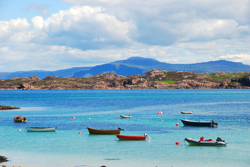 Download Boats stock image. Image of paradise, desertic, heaven - 12331741