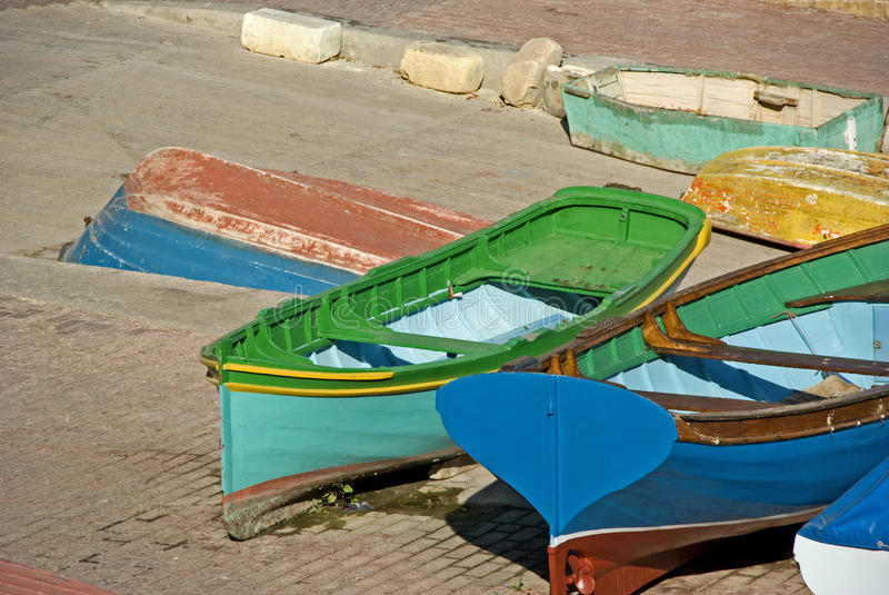 Boats stock photography