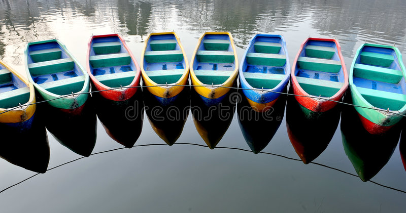 Download Boats stock photo. Image of water, leisure, asia, empty - 4363658
