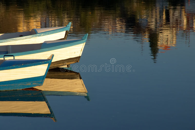 Download Boats stock photo. Image of calm, turism, blue, mirror - 451568