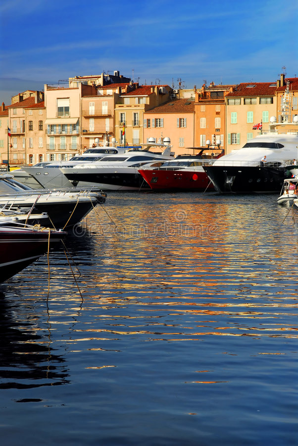 Free Boats At St.Tropez Royalty Free Stock Photos - 4574468