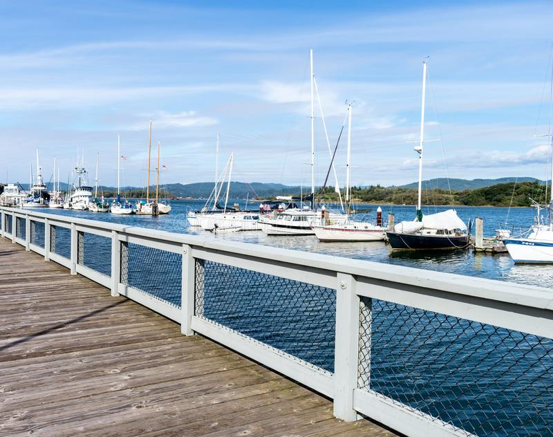 Boats in the Bay royalty free stock photography