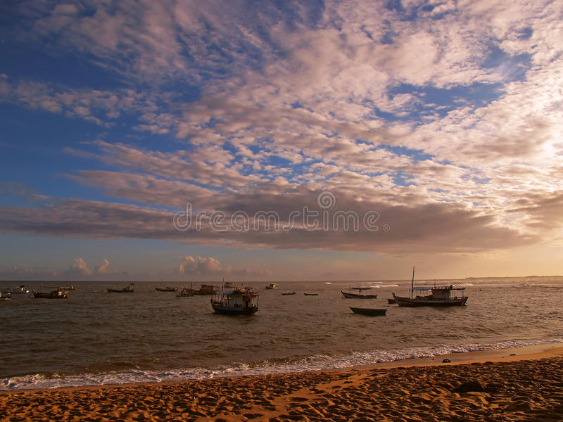 Download Boats In The Beach Royalty Free Stock Image - Image: 23172936