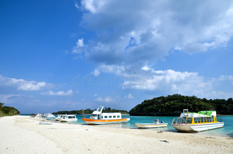 Download Boats at beach editorial stock photo. Image of paradise - 36783038