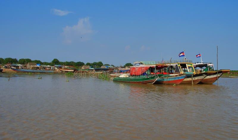 Boats Of Cambodia Stock Photo