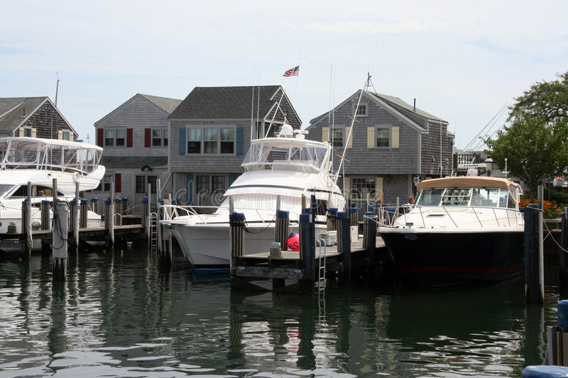Download Boats at Cape Cod stock photo. Image of america, harbor - 463236