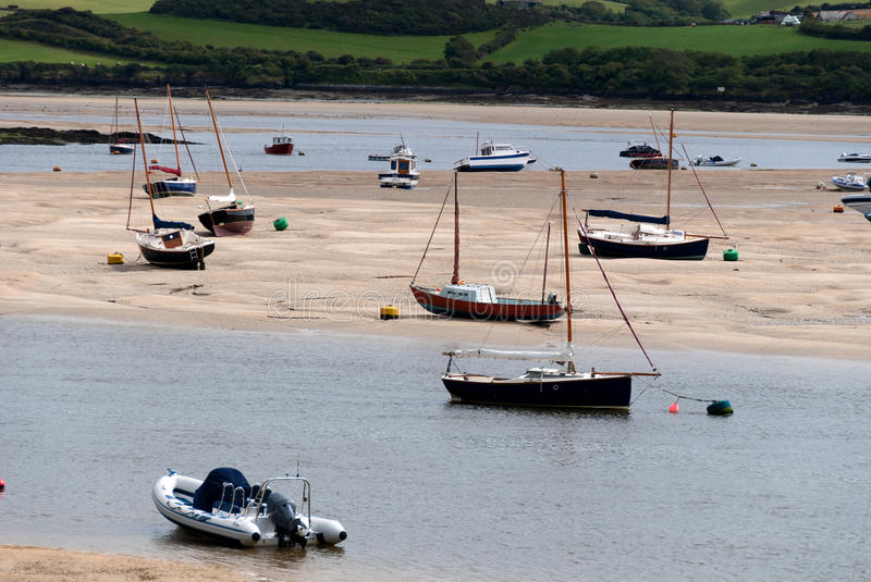 Boats In Cornwall Royalty Free Stock Photography