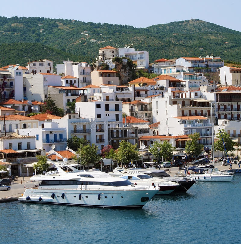 Free Boats In Skiathos Island Royalty Free Stock Images - 20840059