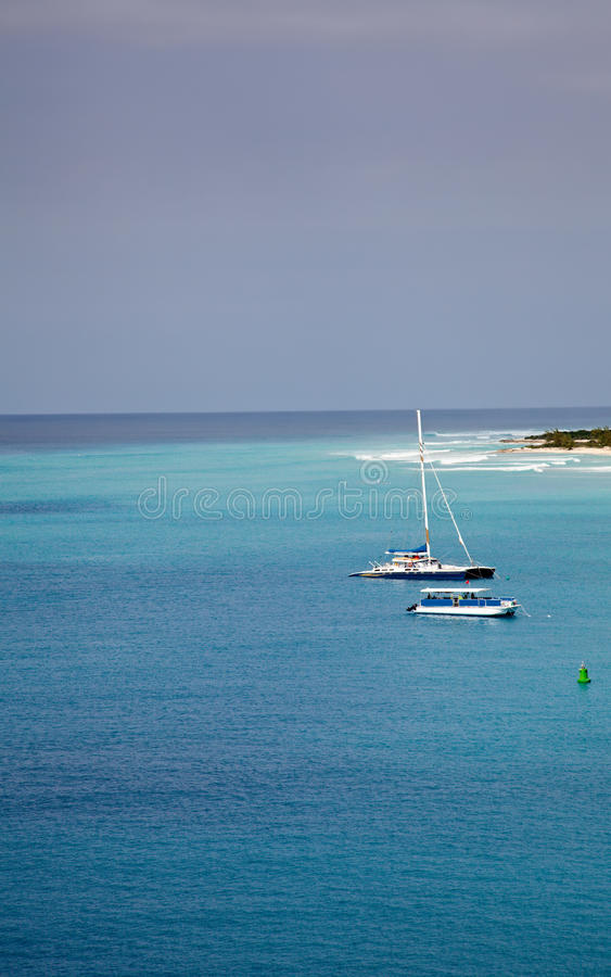 Free Boats In The Caribbean Sea Stock Images - 13538494
