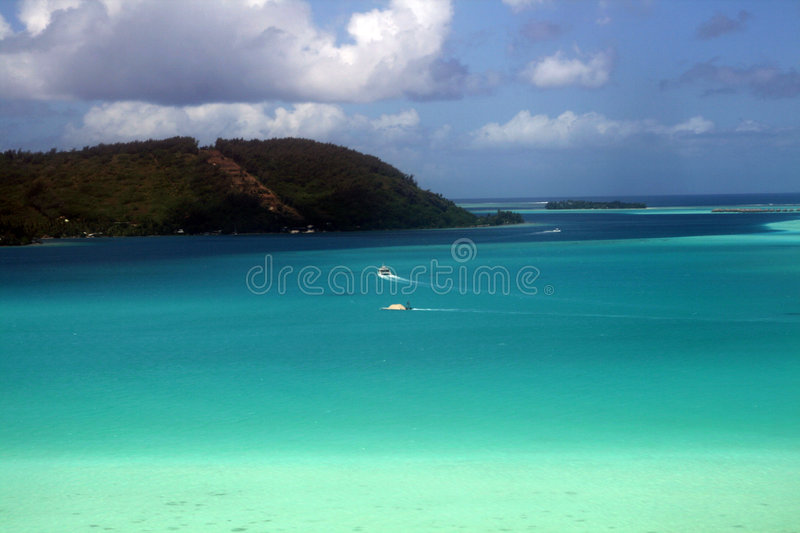 Download Boats on lagoon stock photo. Image of arrival, palm, travel - 7536054
