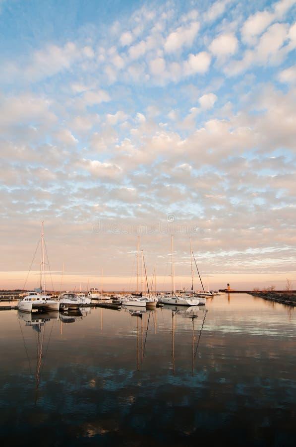 Boats On Lake Ontario Royalty Free Stock Photos