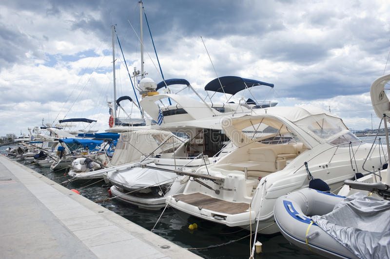 Download Boats in marina 1 stock photo. Image of vacation, luxury - 15569806
