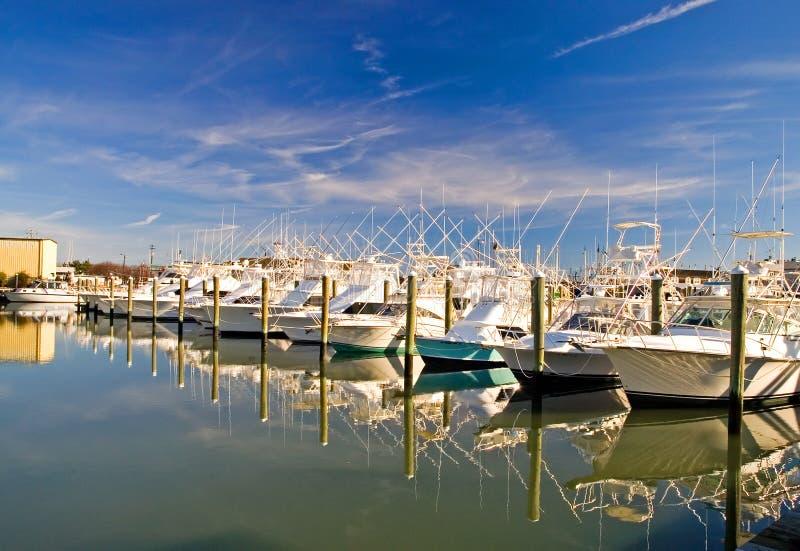 Download Boats at a Marina-1 stock photo. Image of dock, marina - 1715104