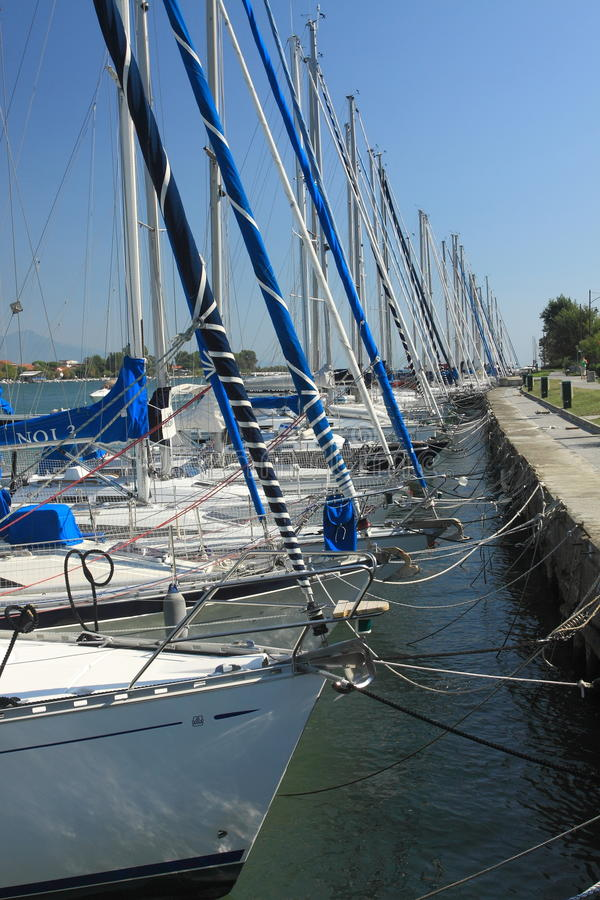 Download Boats In Marina Bocca Di Magra Stock Image - Image: 21635107
