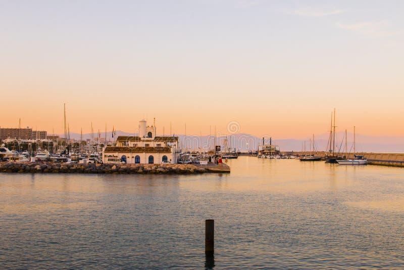 Boats In Marina At Sunset Free Public Domain Cc0 Image