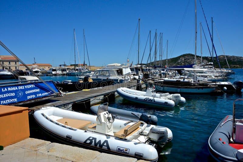 Boats moored. stock photo