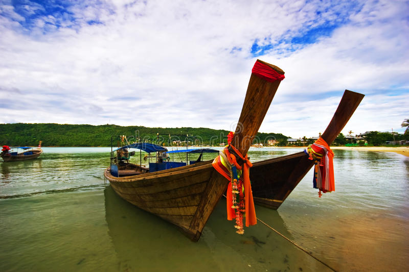 Download Boats Near The Beach Royalty Free Stock Image - Image: 10724796