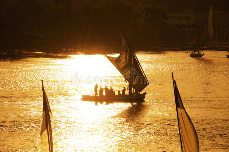 Download Boats on Nile stock image. Image of vessels, nature, scenery - 12881367