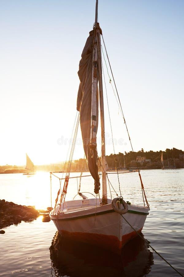 Boats on Nile