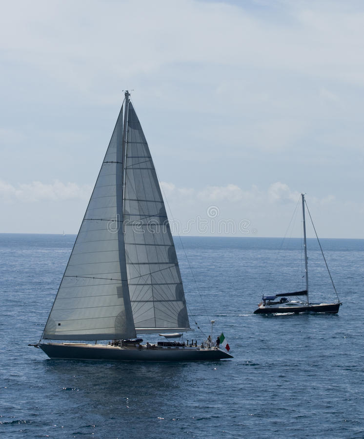 Download Boats On Ocean In Europe Royalty Free Stock Photos - Image: 10668468