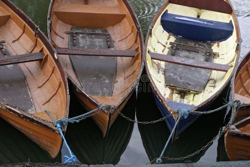 Boats in oxford 1 royalty free stock photos