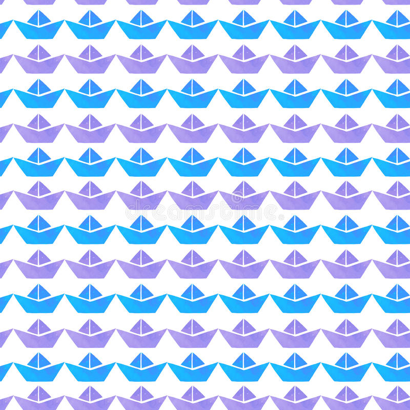 Free Boats Pattern Royalty Free Stock Image - 72705406
