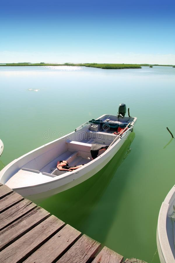 Download Boats In Pier Mangrove Lagoon In Mayan Riviera Royalty Free Stock Photo - Image: 19570895